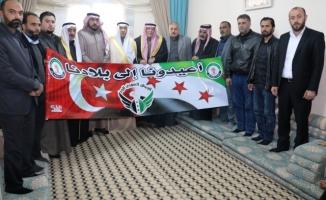 Suriyeli aşiretler Fırat'ın doğusunun terörden temizlenmesini istiyor