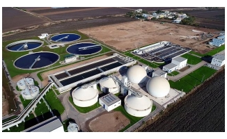 Urfa'da atık sular elektrik ve gübreye dönüşüyor