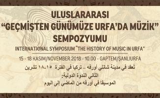 Urfa'da müzik sempozyumu düzenlenecek