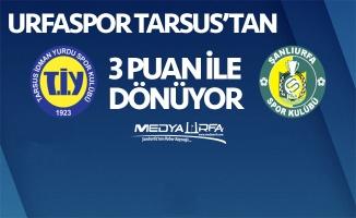 Urfaspor, Tarsus'tan 3 puanla dönüyor