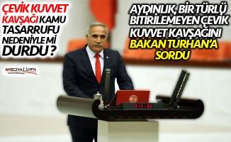 Aydınlık, Bakan Turhan'a Urfa'daki kavşağı sordu