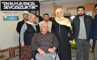 Ayşe Ekinci engelli vatandaşları unutmadı!