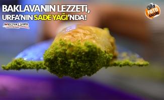 """Baklavanın """"lezzet iksiri"""" Urfa'nın sade yağı!"""