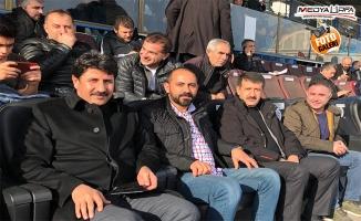 Başkan Ekinci, Urfaspor'u deplasmanda yalnız bırakmadı!