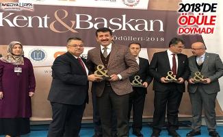 Başkan Ekinci'ye ''Yılın Belediye Başkanı'' ödülü!