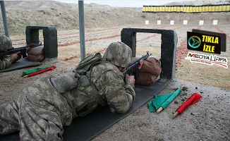 Bedelli askerlerin eğitim görüntüleri!
