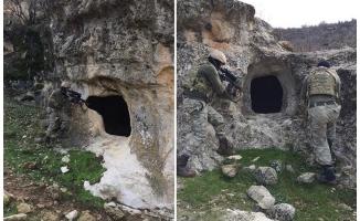 Diyarbakır'da teröristlerin barındığı yerler imha edildi