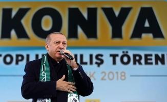 Erdoğan: Teröristler gitmezse biz göndereceğiz