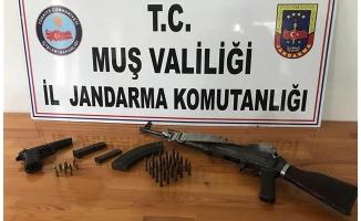 FETÖ şüphelisinin evinde silah ve mühimmat ele geçirildi