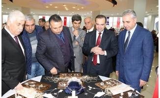 Karaköprü'de emek ve sanat sergisi açıldı!