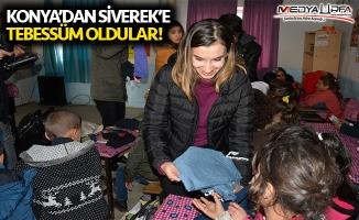 Konya'dan Siverek'e tebessüm oldular!
