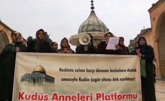 """""""Kudüs annelerinin"""" Özgürlük Mücadelesi"""