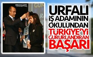 Murat Gülel'in okulundan Türkiye'yi gururlandıran başarı!