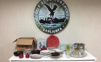 Urfa'da çaldığı eşyaları satarken yakalandı