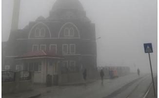 Urfa'da sis ve yağış etkili oluyor!