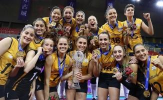VakıfBank Kadın Voleybol Takımı'ndan gururlandıran başarı