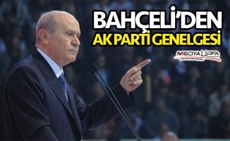Bahçeli'den teşkilatlara AK Parti genelgesi