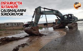 DSİ, Suruç'ta sel sonrası yaraları sarıyor!