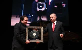 Erdoğan Fazıl Say konserini izledi!