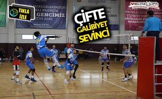 Haliliye Belediyespor'da çifte galibiyet!