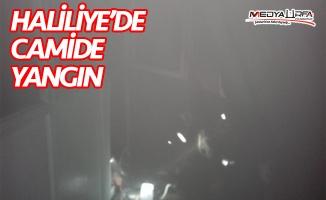 Haliliye'de camide yangın!