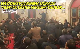 Harran'da Mehmet Özyavuz'a destek ziyaretleri!