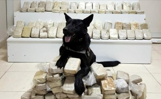 Maraş'ta 103 kilo 600 gram eroin yakalandı