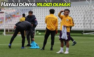 Suriyeli futbolcu hayali için Türkiye'de