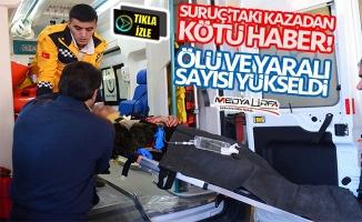 Suruç'taki kazada ölü ve yaralı sayısı yükseldi!