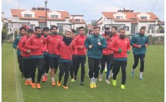 Urfaspor'un Antalya kampı sürüyor!