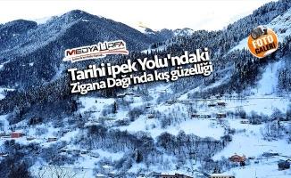 Zigana Dağı'nda kış güzelliği