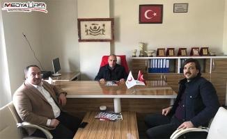 AK aday Ekinci'den Kızılay'a ziyaret