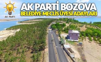 AK Parti Bozova Belediye Meclis Üyesi Adayları