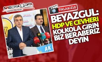 Beyazgül: HDP ve Cevheri kol kola girin, biz beraberiz deyin
