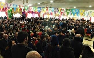 HDP'nin Mardin'deki aday tanıtımına tutuklama