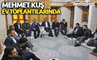 Kuş ev toplantılarında AK Parti'ye destek istiyor!