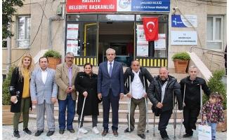 Ortopedik engelliler Demirkol'a teşekkür etti