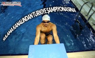 Sulama kanalından Türkiye şampiyonasına