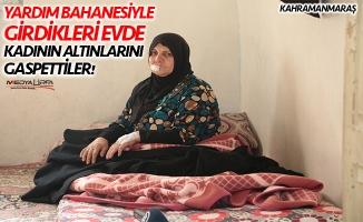 Suriyeli kadının altınlarını gasp ettiler!