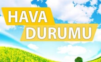 Türkiye'de hava az bulutlu geçecek