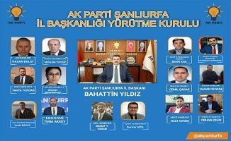 AK Parti'nin yeni yürütme kurulu açıklandı!
