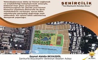 Beyazgül'den Büyükşehire yeni hizmet binası