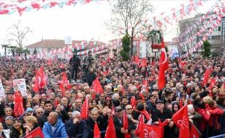 CHP'den Tekirdağ'da sessiz miting