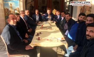 Eyyüpoğlu ve Bayık ailesinden AK Parti'ye destek