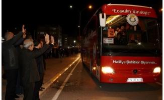 Haliliye'de başarılı öğrenciler Çanakkale'ye uğurlandı