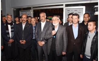 Hilvan'da HÜDAPAR'dan AK Parti'ye destek