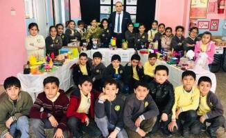 """Hilvan'daki okula """"Çevreye Duyarlı Okul Beratı"""""""