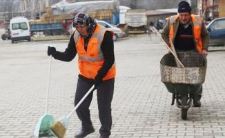 İlçenin temizliği Karakoç çiftine emanet