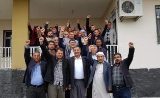 Kırsal mahallelerden Özyavuz'a destek