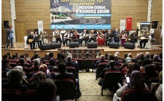 """""""Müziğin İzinde 4 Kardeş Şehir"""" konseri"""